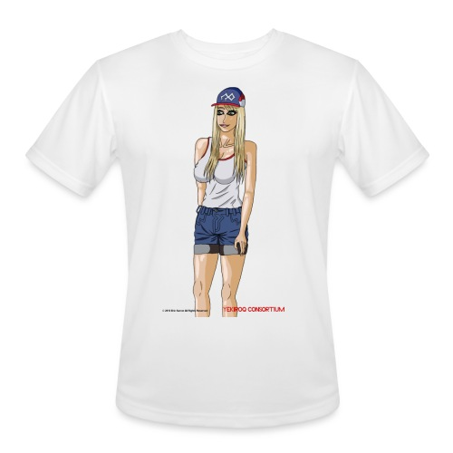 Gina Character Design - Men's Moisture Wicking Performance T-Shirt