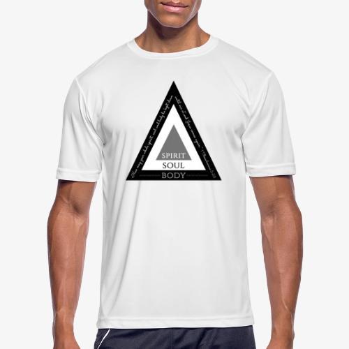 Spirit Soul Body - Men's Moisture Wicking Performance T-Shirt