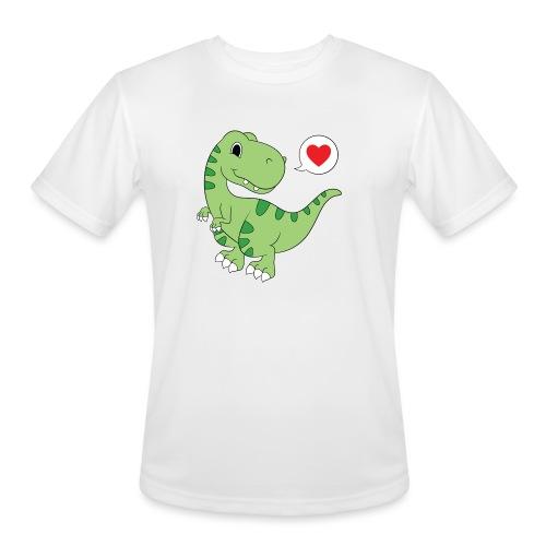 Dinosaur Love - Men's Moisture Wicking Performance T-Shirt