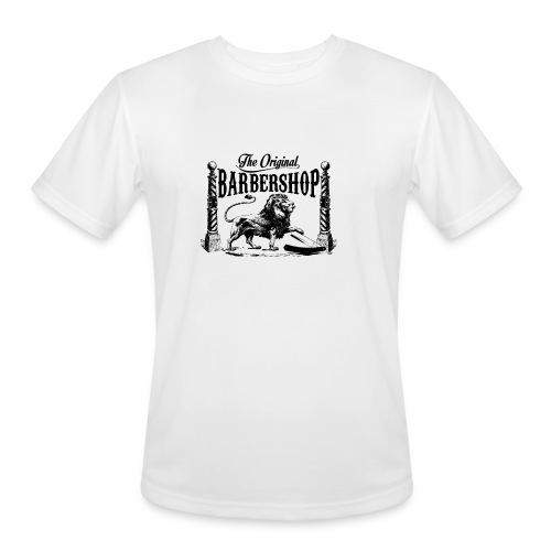 The Original Barbershop - Men's Moisture Wicking Performance T-Shirt