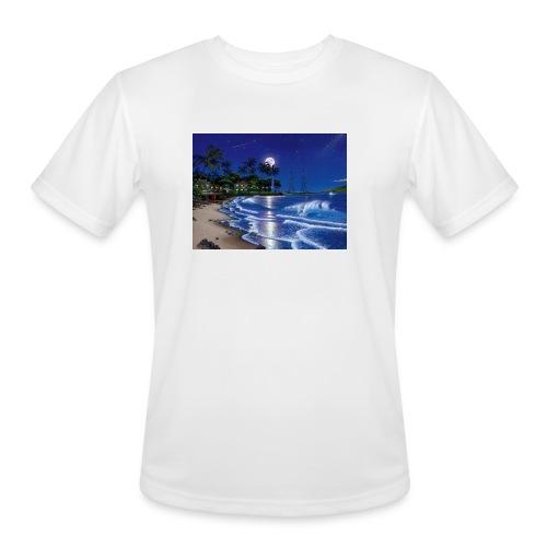 full moon - Men's Moisture Wicking Performance T-Shirt