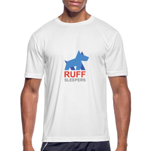 ruffsleepers logo 01 - Men's Moisture Wicking Performance T-Shirt