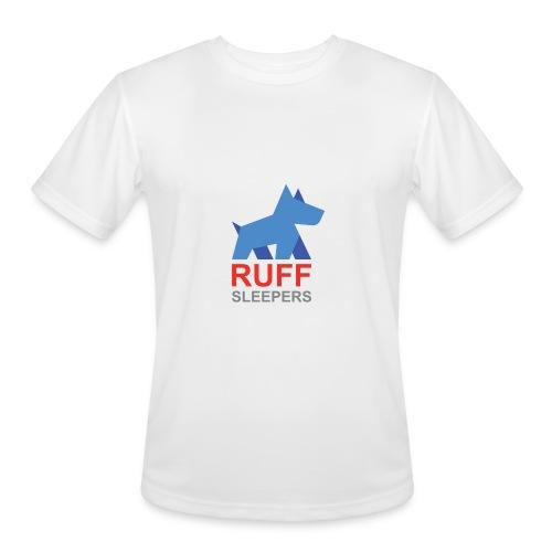 ruffsleepers logo 01 - Men's Moisture Wicking Performance T-Shirt