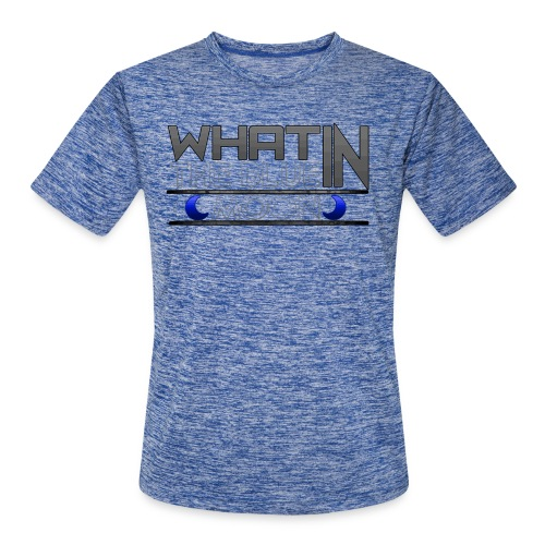 What in the BLUE MOON T-Shirt - Men's Moisture Wicking Performance T-Shirt