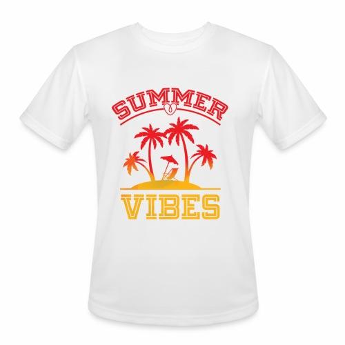 Summer Vibes - Men's Moisture Wicking Performance T-Shirt