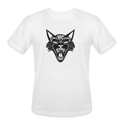 Big Kitty-Screaming Cat - Men's Moisture Wicking Performance T-Shirt