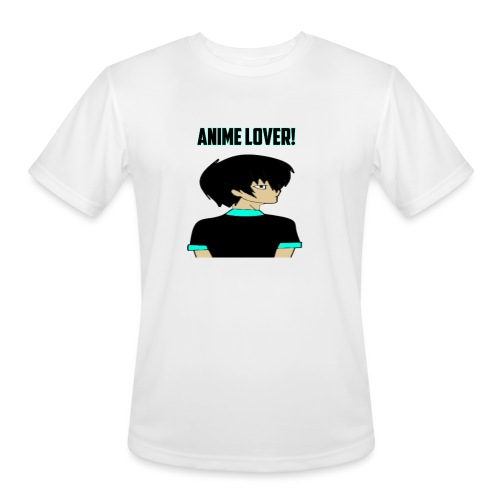 anime lover - Men's Moisture Wicking Performance T-Shirt