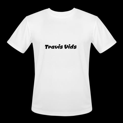 White shirt - Men's Moisture Wicking Performance T-Shirt