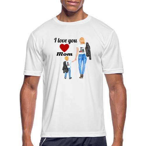 Mother's day gift from daughter, Mother's Day Gift - Men's Moisture Wicking Performance T-Shirt
