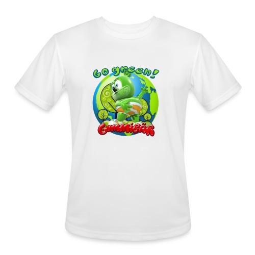 Gummibär Go Green Earth Day Earth - Men's Moisture Wicking Performance T-Shirt