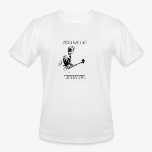 Screamin' Whisper Filth Design - Men's Moisture Wicking Performance T-Shirt