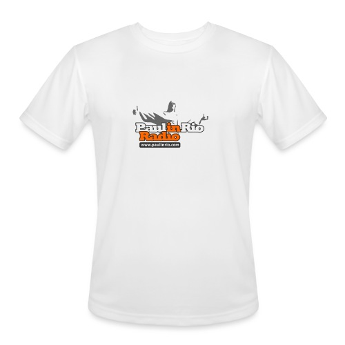 Paul in Rio Radio - Thumbs-up Corcovado #1 - Men's Moisture Wicking Performance T-Shirt