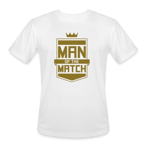 Man of the Match - Men's Moisture Wicking Performance T-Shirt