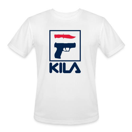 Kila - Men's Moisture Wicking Performance T-Shirt