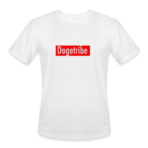 Dogetribe red logo - Men's Moisture Wicking Performance T-Shirt