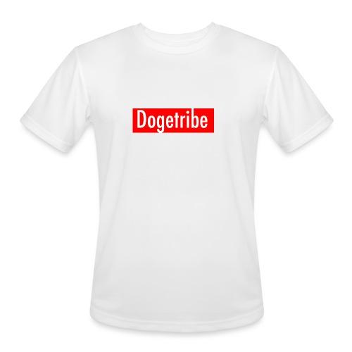 Dogetribe red logo - Men's Moisture Wicking Performance T-Shirt