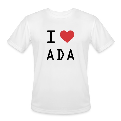 I HEART ADA (Cardano) - Men's Moisture Wicking Performance T-Shirt