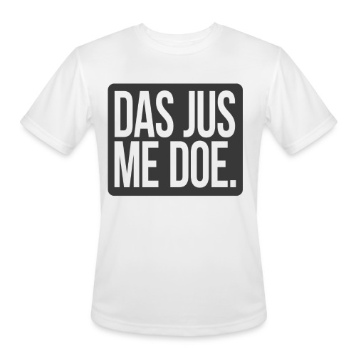 DAS JUS ME DOE Throwback - Men's Moisture Wicking Performance T-Shirt