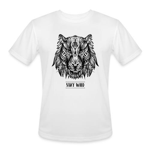 Stay Wild - Men's Moisture Wicking Performance T-Shirt
