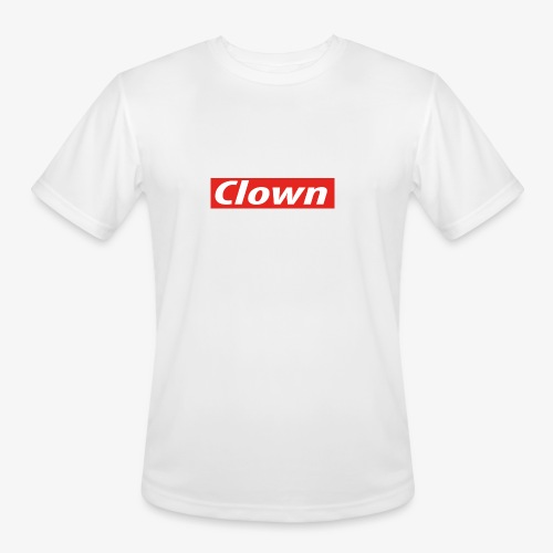 Clown box logo - Men's Moisture Wicking Performance T-Shirt