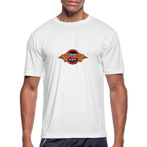 Chicken Wing Day - Men's Moisture Wicking Performance T-Shirt