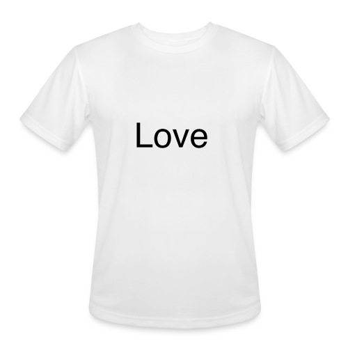 Love - Men's Moisture Wicking Performance T-Shirt