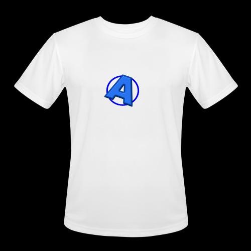 Awesomegamer Logo - Men's Moisture Wicking Performance T-Shirt