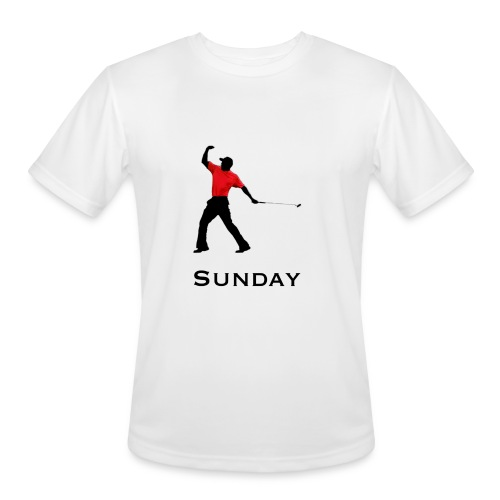 Sunday Red - Men's Moisture Wicking Performance T-Shirt