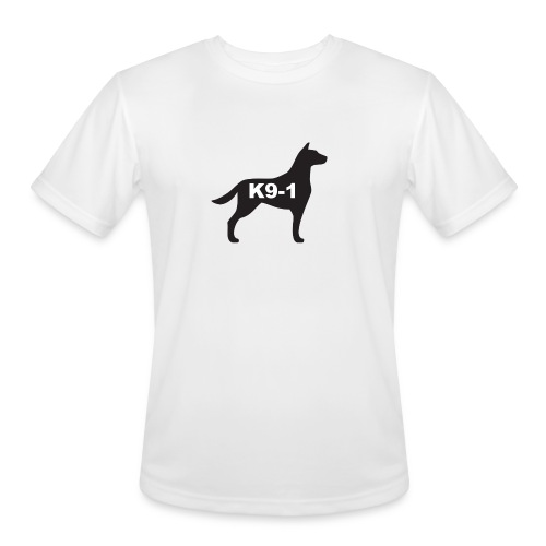 K9-1 logo - Men's Moisture Wicking Performance T-Shirt