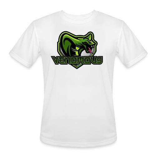 Venomous Text Logo - Men's Moisture Wicking Performance T-Shirt