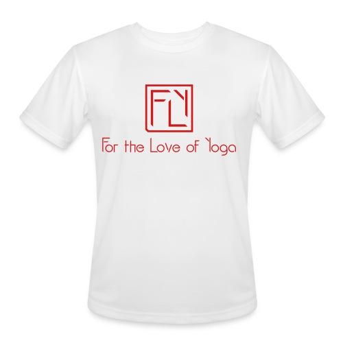 For the Love of Yoga - Men's Moisture Wicking Performance T-Shirt