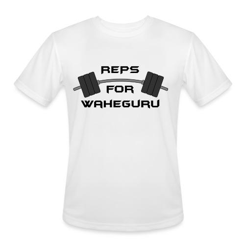 REPS FOR WAHEGURU - Men's Moisture Wicking Performance T-Shirt