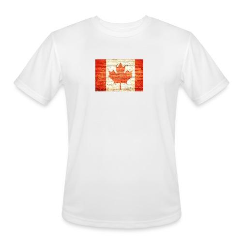 Canada flag - Men's Moisture Wicking Performance T-Shirt
