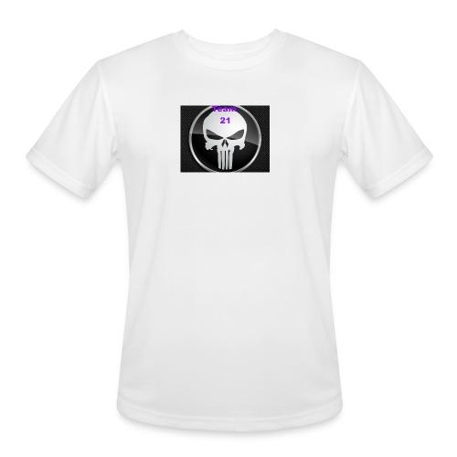Team 21 white - Men's Moisture Wicking Performance T-Shirt