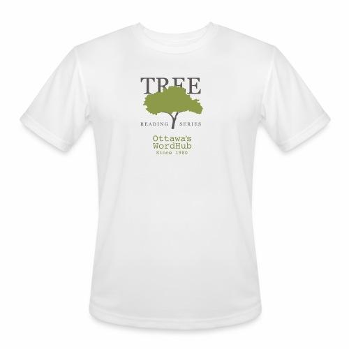 Tree Reading Swag - Men's Moisture Wicking Performance T-Shirt