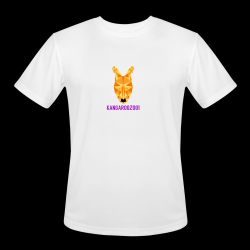 Kangaroozoo1 Logo & Name - Men's Moisture Wicking Performance T-Shirt