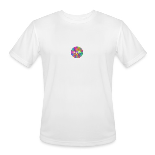 RocketBull Color - Men's Moisture Wicking Performance T-Shirt