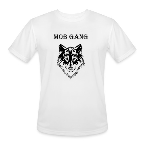wolf - Men's Moisture Wicking Performance T-Shirt