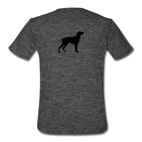 German Wirehaired Pointer - Men's Moisture Wicking Performance T-Shirt