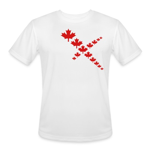 Maple Leafs Cross - Men's Moisture Wicking Performance T-Shirt