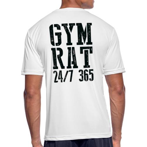 Gym Rat - Men's Moisture Wicking Performance T-Shirt