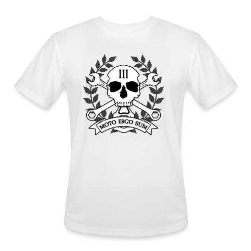 Moto Ergo Sum - Men's Moisture Wicking Performance T-Shirt