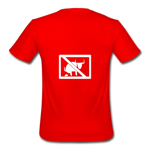 No Bull logo - Men's Moisture Wicking Performance T-Shirt