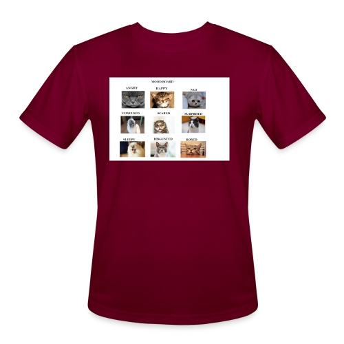 MOOD BOARD - Men's Moisture Wicking Performance T-Shirt
