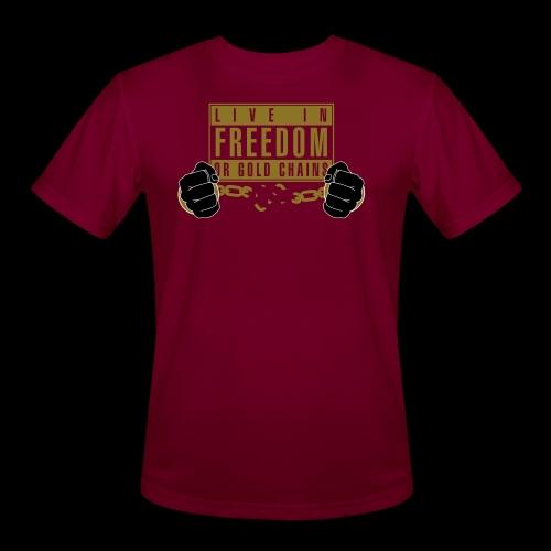Live Free - Men's Moisture Wicking Performance T-Shirt