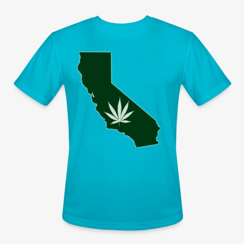 weed - Men's Moisture Wicking Performance T-Shirt