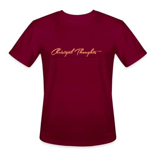 Christyal Thoughts C3N3T31 O - Men's Moisture Wicking Performance T-Shirt