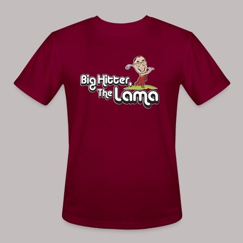 Big Hitter The Lama - Men's Moisture Wicking Performance T-Shirt