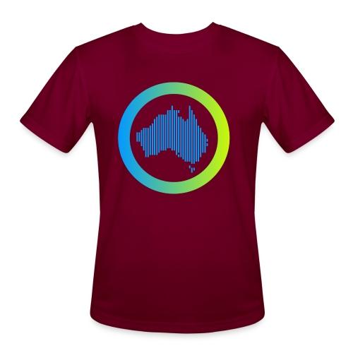 Gradient Symbol Only - Men's Moisture Wicking Performance T-Shirt