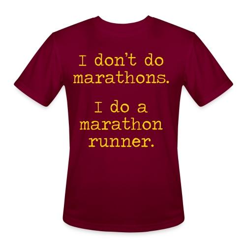 DONT DO MARATHONS - Men's Moisture Wicking Performance T-Shirt